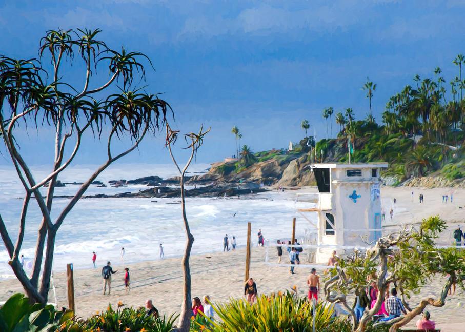 Laguna Beach Lifeguard Photography Art   Greg Starnes Phtography