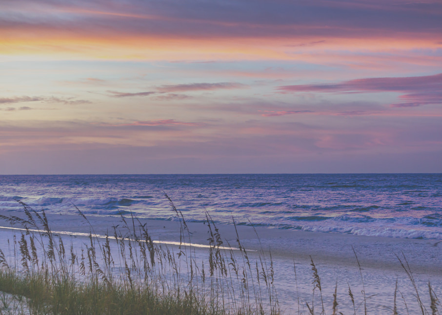 The Purple Waves of Destin   Susan J Photography