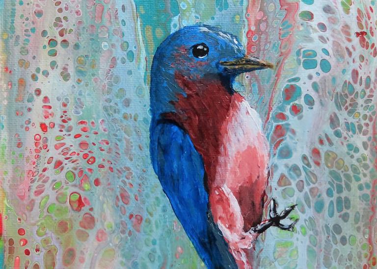 Bluebird Faith | LML Studio Art