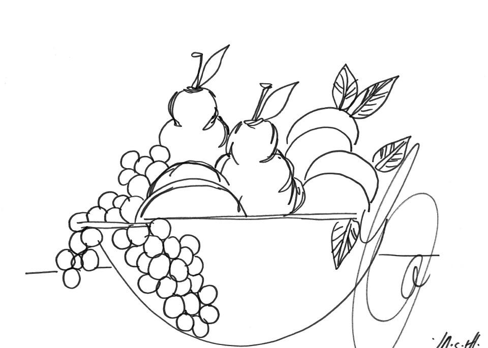 Fruit Bowl Art | ashalmonte