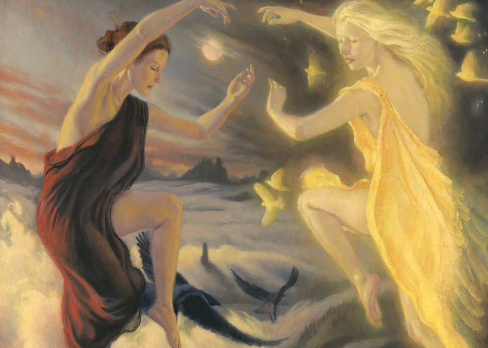 The Dance Of The Earth Night And Sunna Art | Studio Girard