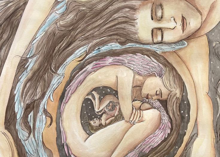 Spiral Past Art | Priscila Soares - MyLuckyEars