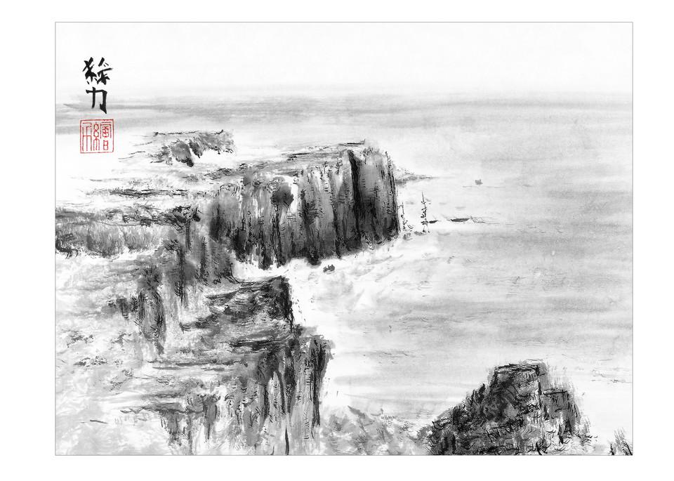Beach One (Premium Print) Art   HombretheArtist