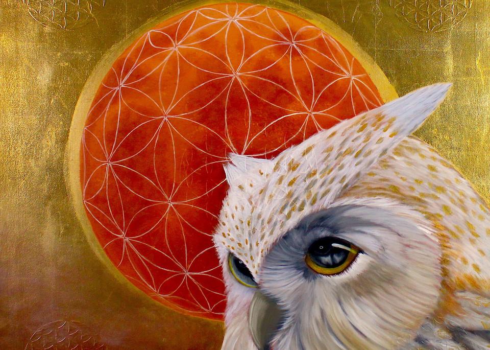 Owlsome painting: Shop Print / Errymil Batol Art