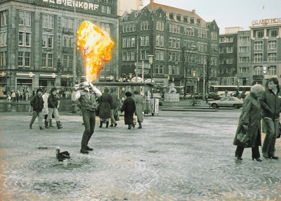 Dam Square Fire Eater Art   Wild Ponies creations