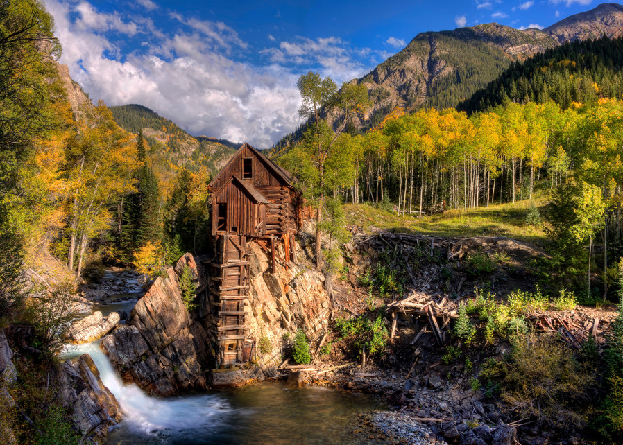 Crystal Mill And The Crystal River Photography Art | Ken Smith Gallery