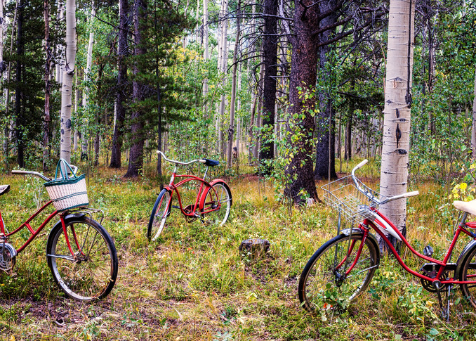 Red Riders Semi Panorama Photography Art   Ken Smith Gallery