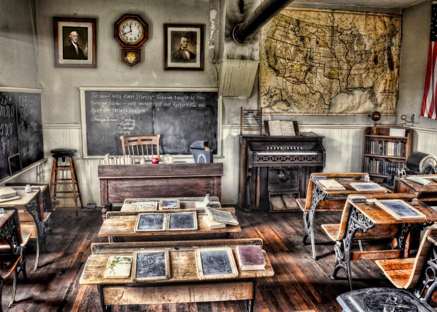 Classroom Recess Photography Art | Ken Smith Gallery