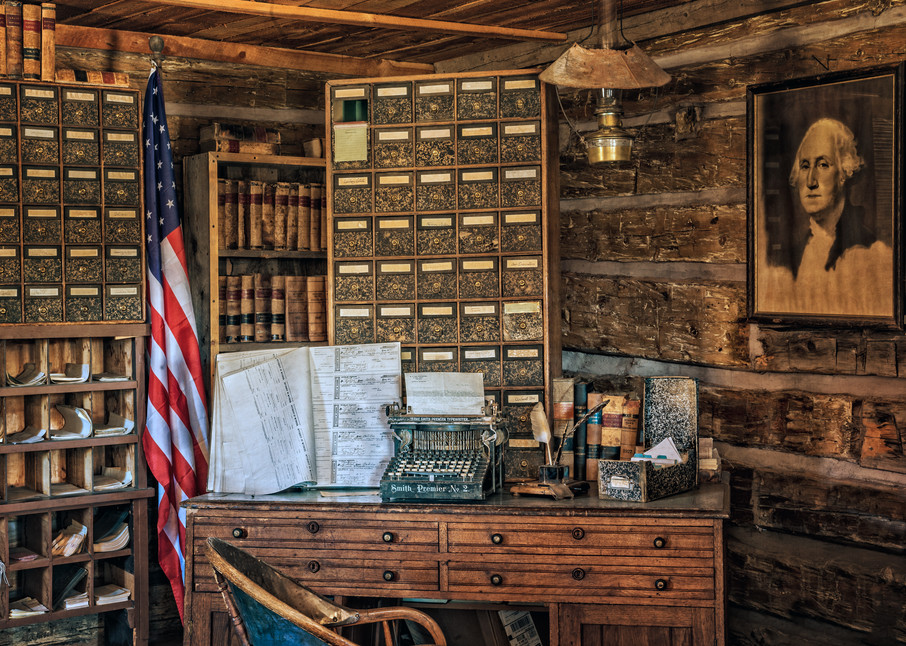 Old West Courthouse Photography Art   Ken Smith Gallery