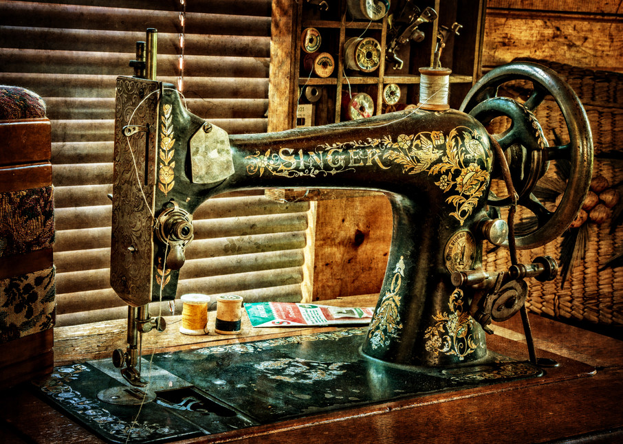 Singer Sewing Machine Photography Art | Ken Smith Gallery