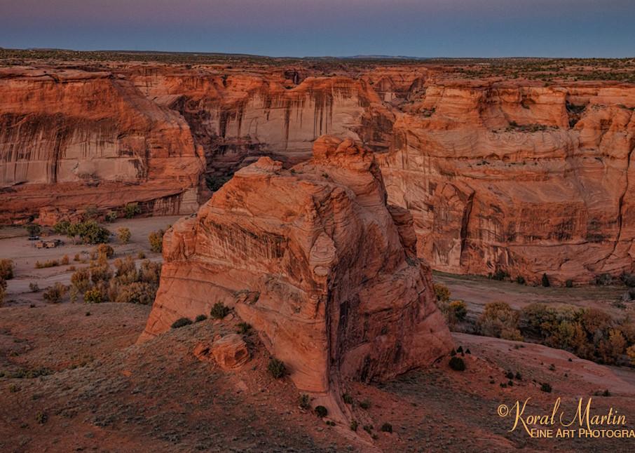 Sunset Canyon De Chelly View 3437  Photography Art | Koral Martin Healthcare Art