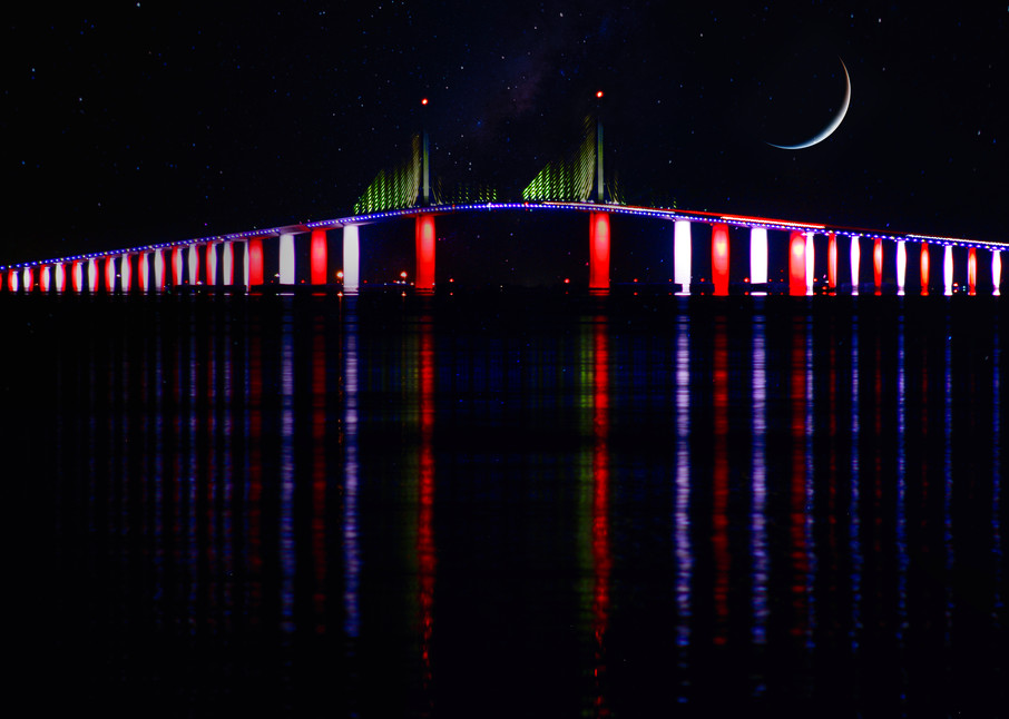 August New Moon Photography Art   CJ Harding