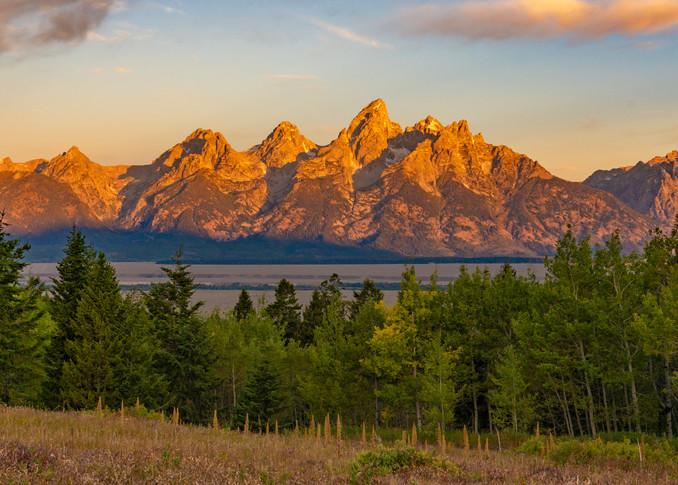 Teton Sunrise  Photography Art | Alex Nueschaefer Photography