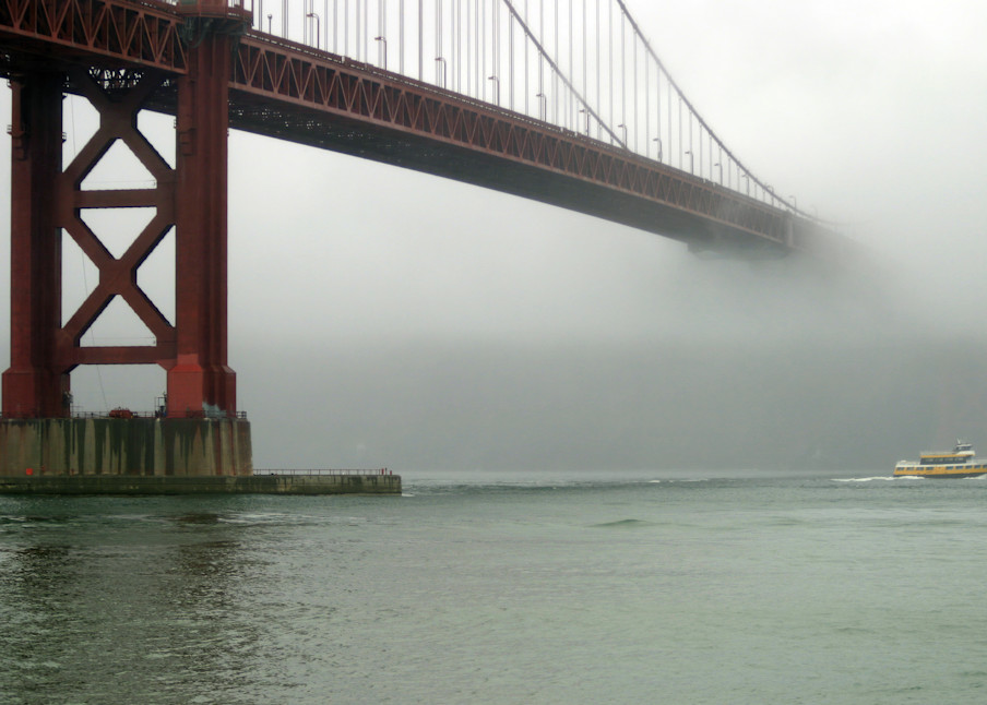 Bridge To Fog Photography Art | FocusPro Services, Inc.