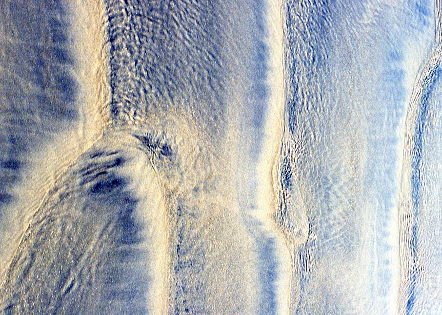 Shoreline Abstract Beach Fine Art Print – Sherry Mills