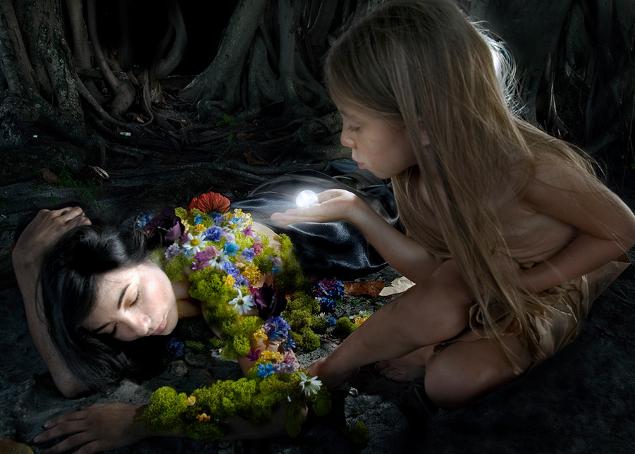 Breath Of Innocence  Art   Angelica Hoyos Studio