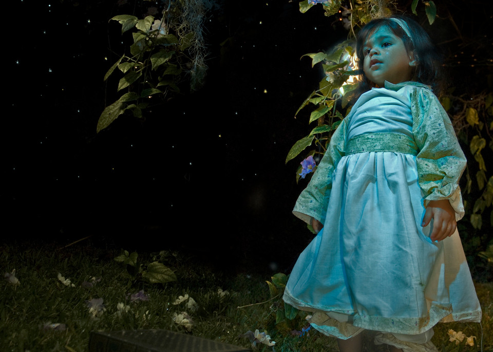 Lost In A Dark Magical Forest  Art | Angelica Hoyos Studio