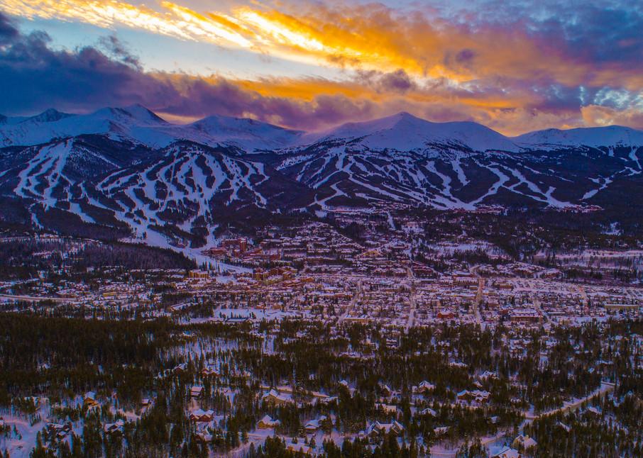 Breckenridge Winter Sunset  Photography Art | Alex Nueschaefer Photography