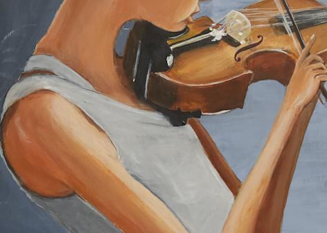 The Violin Player Art | Priscila Soares - MyLuckyEars