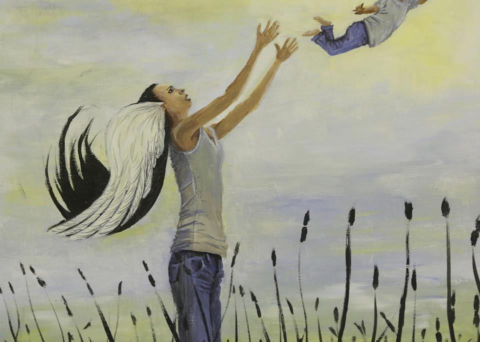 Mean Mother Tosses Her Baby Art   Priscila Soares