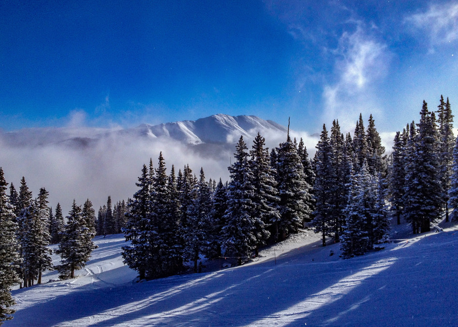 Mt. Baldy From Breckenridge Resort  Photography Art   Alex Nueschaefer Photography