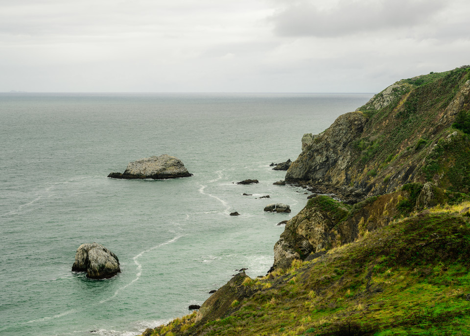 Gull Rock, Shoreline Hwy, California, 2020