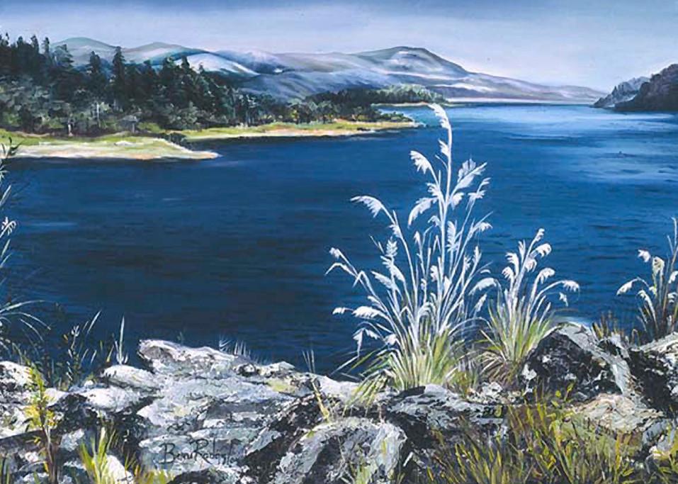 Represas De Chivor 2004 Oil On Canvas Art | artecolombianobyberenice