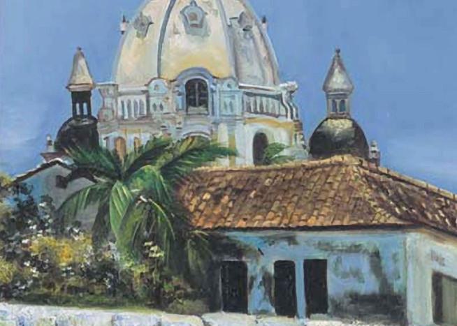Cartagena De Indias 2003 16in X 22in Art | artecolombianobyberenice
