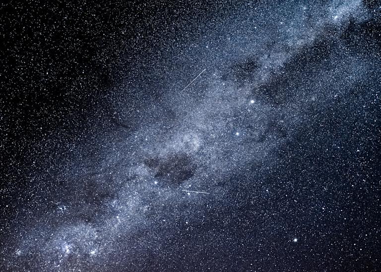 Te Anau Milky Way 2 Meteors Photography Art | Hatch Photo Artistry LLC