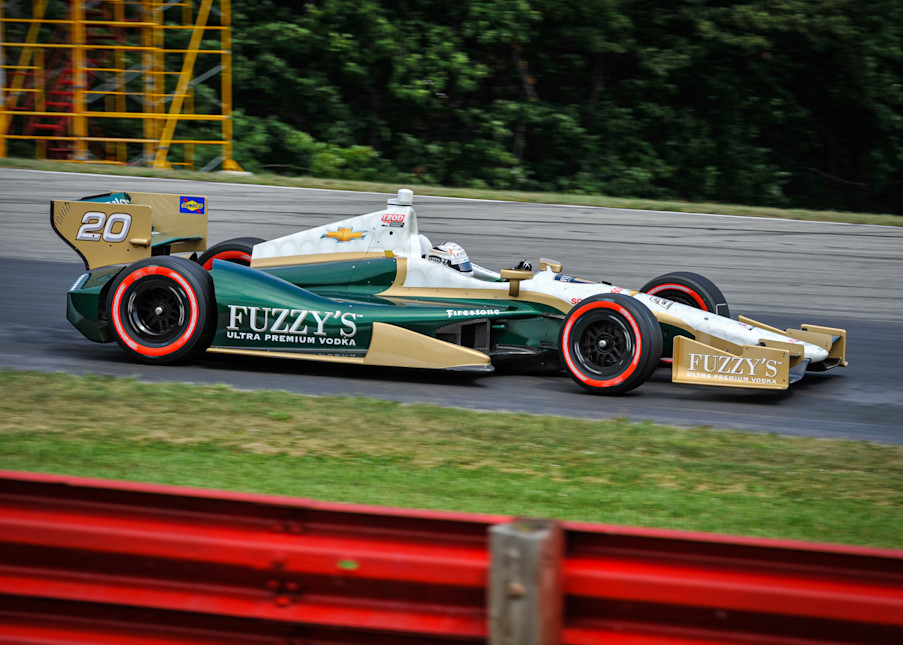 Fuzzy S Formula 1 Car Photography Art | Cardinal ArtWorks LLC
