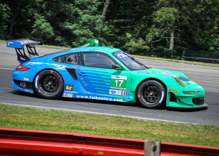 Falken Tire Porsche Car Photography Art | Cardinal ArtWorks LLC