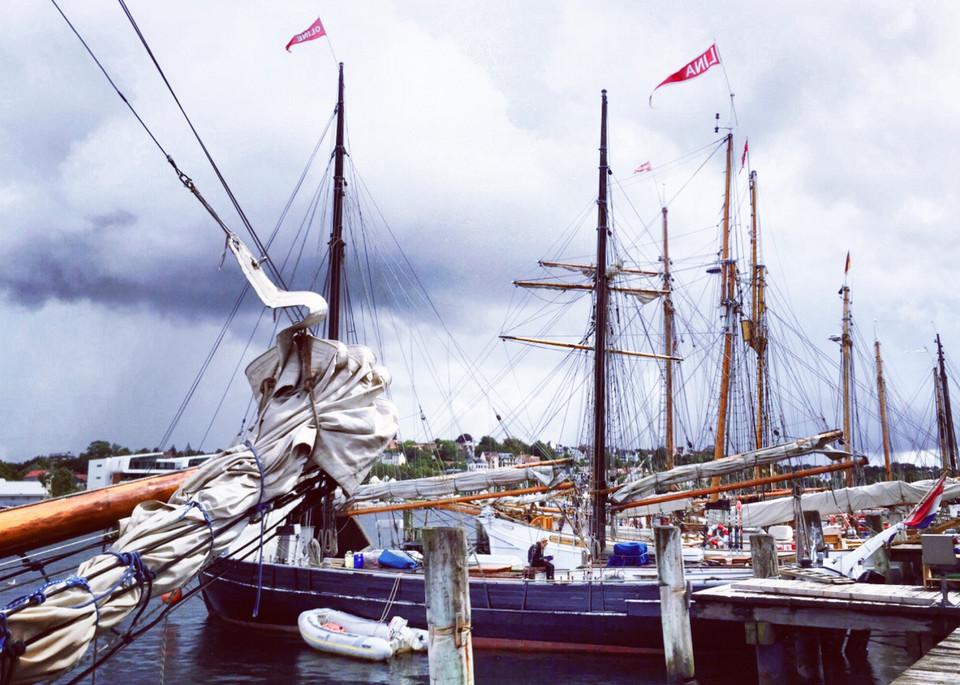 Flensburg Harbor Art | Romanova Art