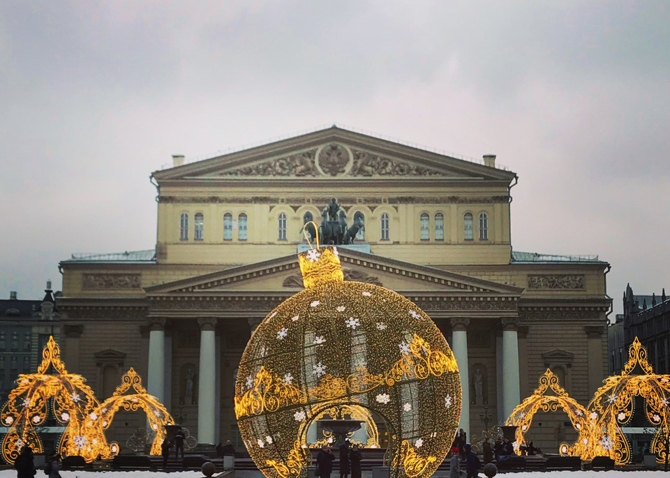 Christmas Magic At The Bolshoi Art | Romanova Art