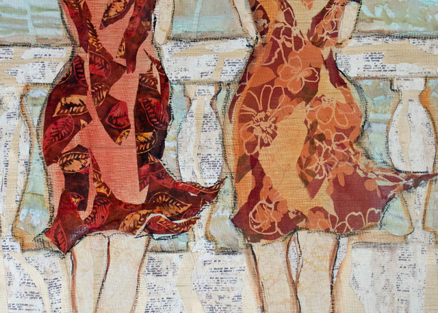 The Conversation  Art   Sharon Tesser LLC