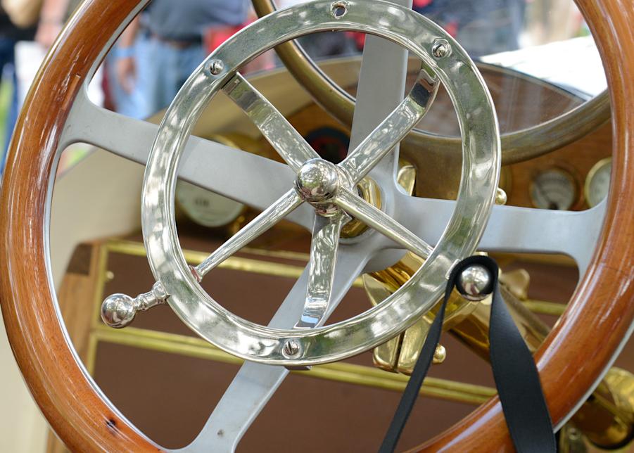 1911 Marmon Steering Wheel Detail Photography Art | Hatch Photo Artistry LLC