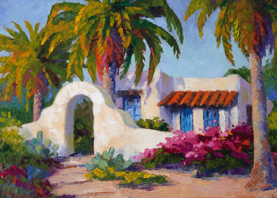 Casita De Las Palmas Art | Linda Star Landon Fine Art