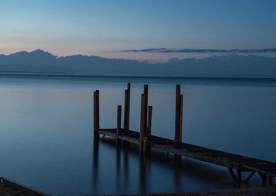 Lake Michigan Nightfall Photography Art | Hatch Photo Artistry LLC