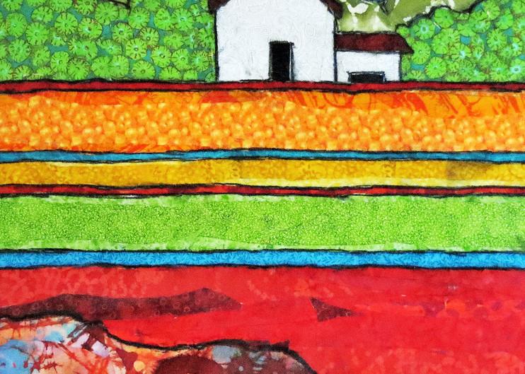 White Barn Print Art   Sharon Tesser LLC