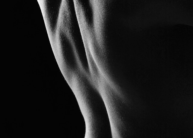 A Body From The Back Photography Art | Christopher Grey Studios