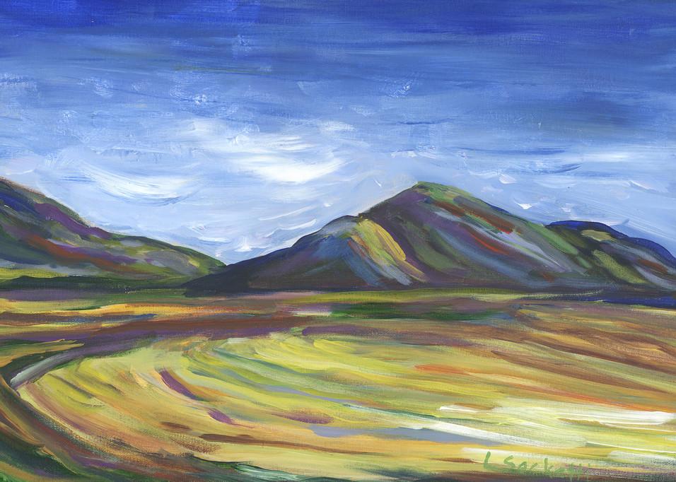 Wheat Fields Along The Garden Route Art   Linda Sacketti