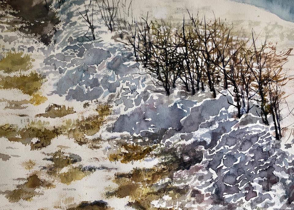 It Snowed Yesterday Art | Nishitas Art