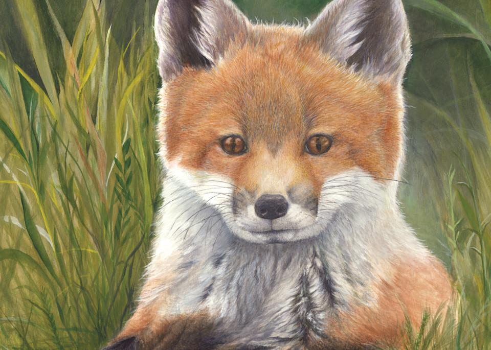 Fox Kit Art | Lori Vogel Studio