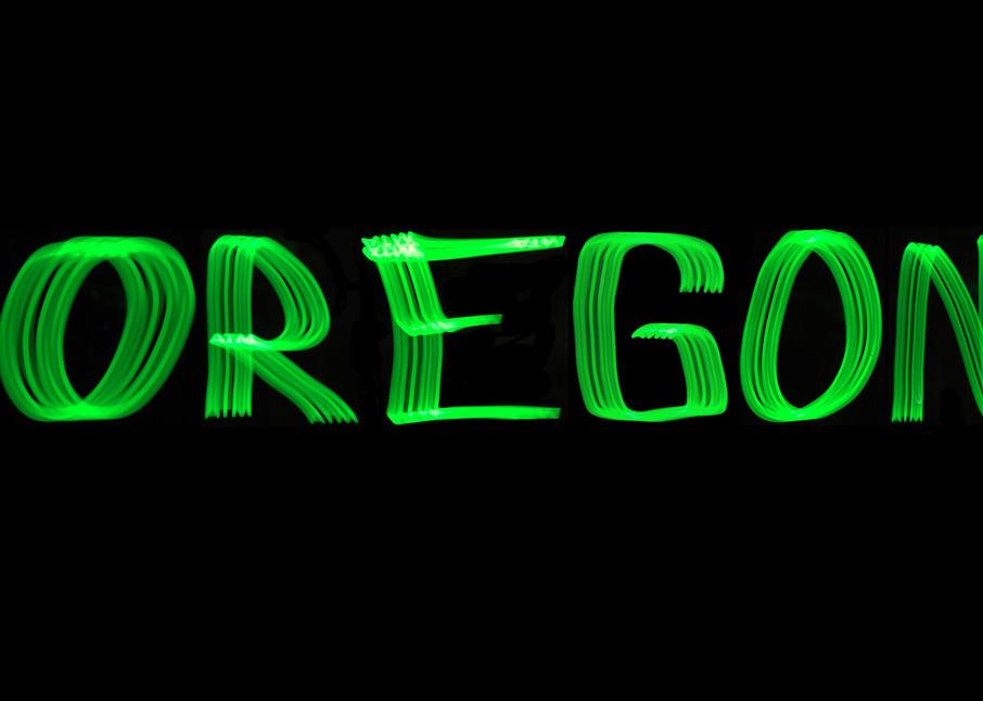 Oregon Light Painting Photography Art | David Louis Klein