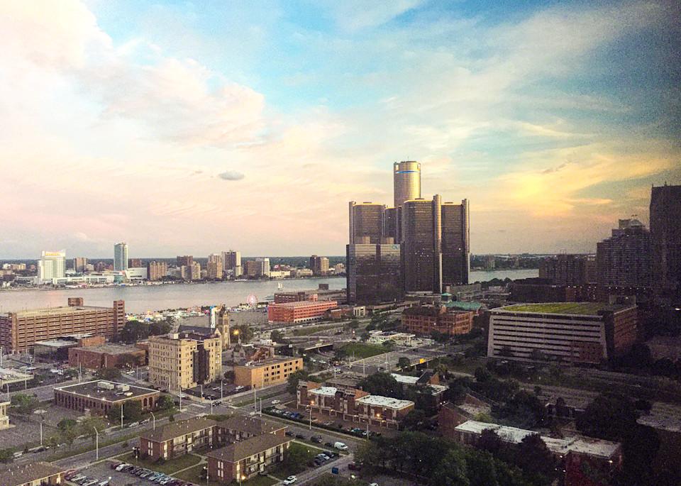 Pink Skies Art | Picture Detroit