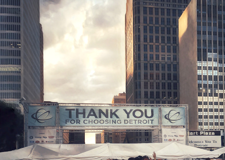 """Detroit Welcomes You"" Art | Picture Detroit"