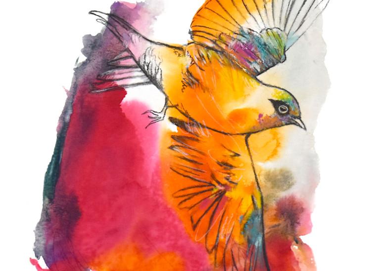 When Setting An Intention Art | Jen Singh Creatively