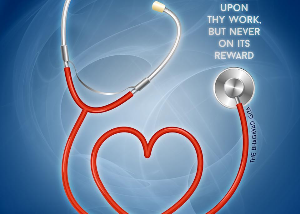 Set Thy Heart Upon Nursing, Never On Its Reward Art | Awake Graphics, LLC