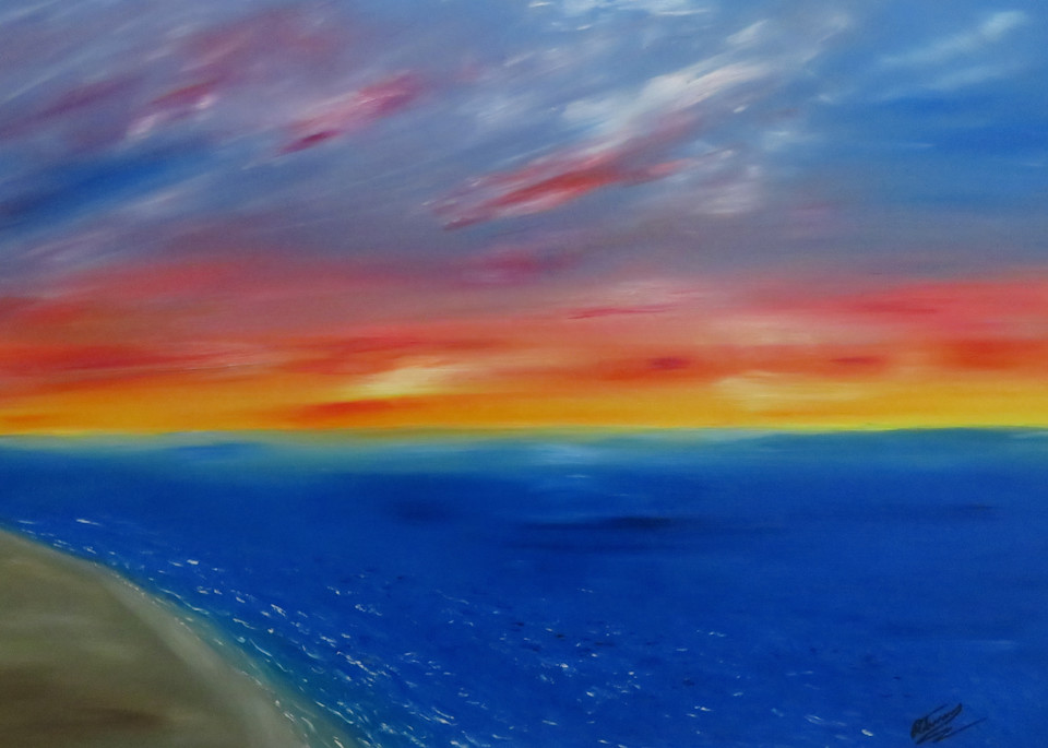 Coastal Sunset Art | Artist Ron Turner