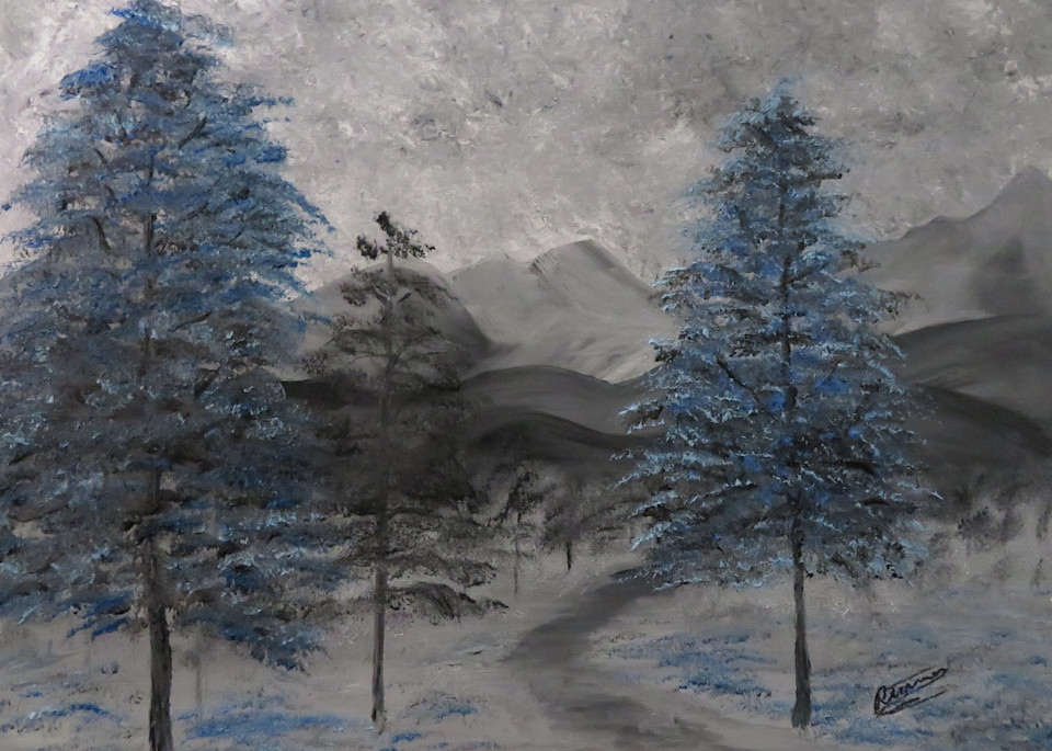 Winter Trail Art | Artist Ron Turner