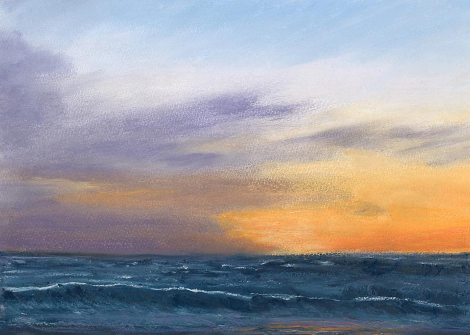S.Gehring - Oregon Coast Wave Art - Sunset At Hug Point